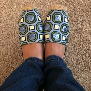 Tory Burch Shoes - Tory burch Embellished Espadrilles